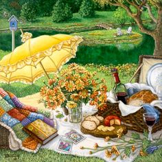 Wine and Cheese ~ Janet Kruskamp