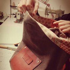 "Making of customized ""Bottiglito"" backpack!!!    Destination: Toronto, Canada"