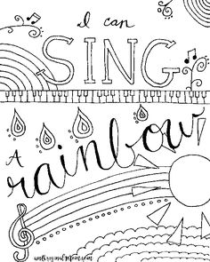 10 interesting music note coloring pages for your music lover little kids school lessons younger students pinterest music lovers music education