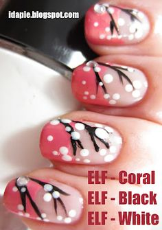 branches ELF Manicures - Nail Art