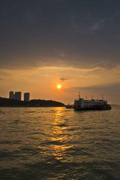 Sunset in Pattaya, Thailand