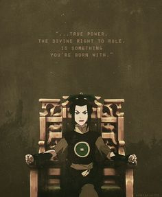 "Princess Azula-I love this episode...""Don't flatter yourself, you were never even a player."" Favorite. Episode."