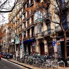 Barri de Gràcia. Barcelona, Catalonia