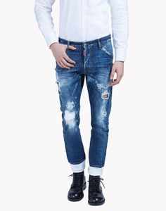 Classic Kenny Jeans - 5 Pockets for Men Denim Jeans Men, Denim Man, Vintage Jeans, Business Outfits, Men's Collection, Jeans Style, Dsquared2, Skinny Jeans, Street Style