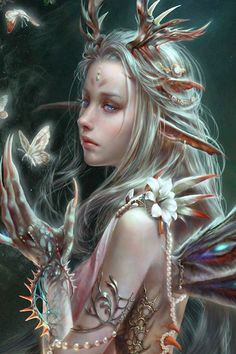 *+*Mystickal Faerie Folke*+*...By Artist Elda...