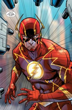 """""""This is how your story ends, Flash."""" The Flash - Gus Vasquez - Visit to grab an amazing super hero shirt now on sale! Flash Comics, Marvel Dc Comics, Anime Comics, Flash Barry Allen, Kid Flash, Flash Art, Comic Books Art, Comic Art, Comic Movies"""