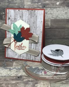 BJ Peters, Independent Stampin' Up! Halloween Cards, Fall Halloween, Fall Cards, Christmas Cards, Christmas 2019, Stampin Up Karten, Zealand Tattoo, Leaf Cards, Stamping Up Cards