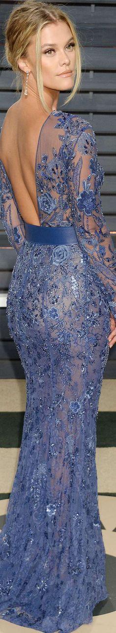 Nina Agdal 2017 Vanity Fair Oscar Party
