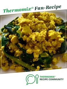 Recipe Scrambled Tofu by Vegan Thermie Bliss, learn to make this recipe easily in your kitchen machine and discover other Thermomix recipes in Main dishes - vegetarian. Recipe Community, Food N, Nutritional Supplements, Tofu, Risotto, Main Dishes, Vegetarian Recipes, Healthy Eating, Thermomix
