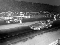 Vintage Drag Racing - Funny Cars