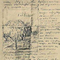 Vincent van Gogh (1853-1890), Letter and sketch to Emile Bernard, March 18, 1888.