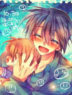 Tags: Anime, Fanart, CLANNAD, Okazaki Tomoya, Okazaki Ushio
