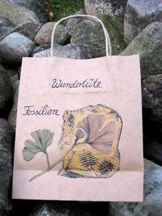 Tusche - Wundertüte Fossilien - ein Designerstück von Engelstrich bei DaWanda