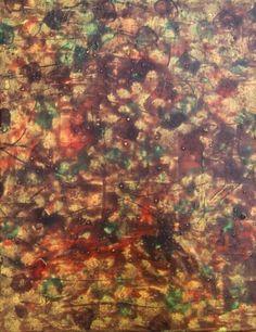 """Original Abstract Art """"On Parade"""" Erica Holmes Mixed Media 16x24 Canvas No Frame"""