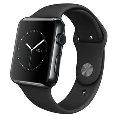 Apple Watch Smart Watch - Wrist - Optical Heart Rate Sensor, Accelerometer, Gyro Sensor, Ambient Light Sensor - Heart Rate - Bluetooth - Bluetooth 4.0 - Wireless LAN - IEEE 802.11b/g/n - 18 Hour - 1.6