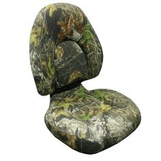 camouflage Bass Boat Seat