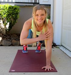 Total Body FLOOR WORKOUT http://www.pbfingers.com/total-body-floor-workout/ This Total Body Floor Workout is perfect for days when you don't have any equipment to work with and cannot make any noise during a workout! It's a totally silent workout that will work your upper body, lower body and core through three rounds of exercises that will have your muscles feeling the burn!
