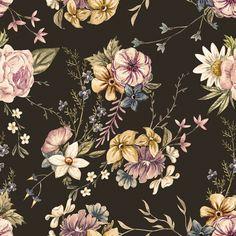 Victorian Flora | Removable Wallpaper | WallsNeedLove