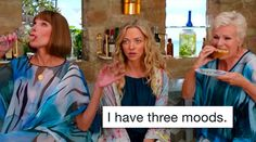 Check out our super funny and relatable Mamma Mia meme collection. Mamma Mia, Be More Chill, American Folk Songs, Here I Go Again, Lily James, Amanda Seyfried, Meryl Streep, Cultura Pop, Frases