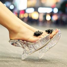 Chandelier Crystal Sandal by Tabitha Simmons. by Jasmoniqa   dream ...