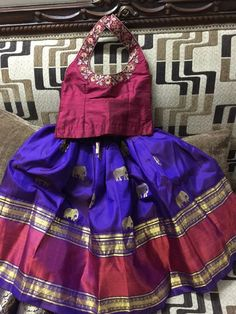 Kids Indian Wear, Kids Ethnic Wear, Baby Lehenga, Kids Lehenga, Baby Skirt, Baby Dress, Dresses Kids Girl, Kids Outfits, Kids Blouse Designs