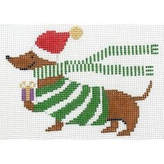 Shop princess and me christmas ornaments on Needlepoint. Needlepoint Stitches, Needlepoint Kits, Needlepoint Canvases, Needlework, Christmas Charts, Christmas Cross Stitch Patterns, Cross Stitch Cards, Cross Stitching, Pixel Crochet