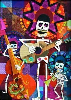 Dia De los muertos band!