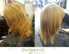 Stunning results from our Think Straight Semi-Permanent Straightener...