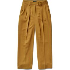Babaton Eckhardt Pants in Ochre as seen on Maria Menounos