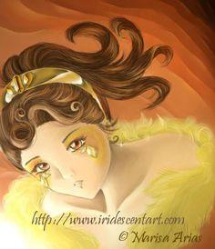 Citrine - Anime/Manga Art by Marisa Paredes (Arias)