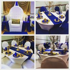 Chair setup and linens from r Polo Baby Shower, Baby Shower Chair, Baby Shower Parties, Baby Shower Themes, Shower Ideas, Prince Birthday Party, Prince Party, Baby Shower Centerpieces, Baby Shower Decorations