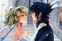 +Luna and Noctis - Stand by Me+ by larienne I had a chance to experience Final Fantasy 15 and I have to say, I really loved it! I am happy they went back to their roots a bit and I loved the characters as well :) The CGI was absolutely stunning and I wanted to give it a try :)