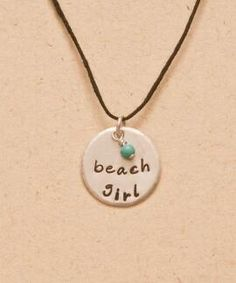 Beach Girl Necklace - Black