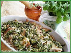 Beatitudini in cucina: Testaroli al pesto  #italy #recipe #tuscany #pesto #primopiatto