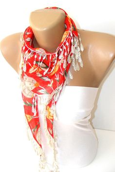 New Traditional Turkishstylebridal wedding cotton by scarvesCHIC, $12.90
