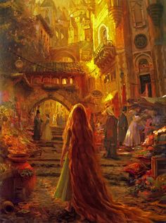 Disney concept art for Tangled. Craig Mullins, Claire Keane, Glen Keane, Lisa Keene