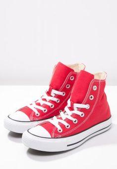 Converse CHUCK TAYLOR ALL STAR - Sneakers hoog - red - Zalando.nl