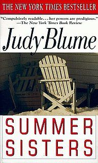 One of Judy Blume's few adult novels, it's the perfect poolside read. I usually re-read it once a summer.