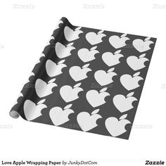 Love Apple Wrapping Paper - Dec 1