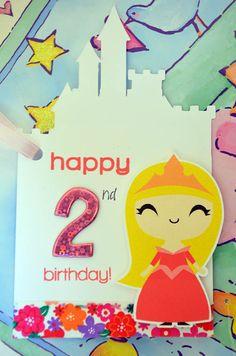 princess bday tag 2nd