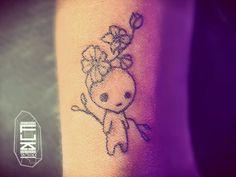 Search inspiration for a Minimal tattoo. Kodama Tattoo, Ghibli Tattoo, Minimal Tattoo, Fuzz, Tattoo Studio, Tattoo Inspiration, Tattoo Artists, Art Reference, Tatting