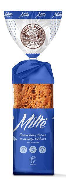 Biržų duona – Miltė (Miss Flour) on Packaging of the World - #packaging #design
