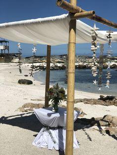 Altar Altar, Patio, Beach, Outdoor Decor, Home Decor, Flowers, Decoration Home, The Beach, Room Decor