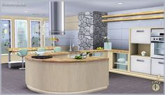 Emma's Simposium: Request 000021 - Audacis Kitchen by SIMcredible - Donated/Gifted To Us - Requested!!!