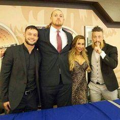 Enzo Amore, Big Cass, Finn Balor, Carmella