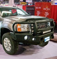 Shop Bumpers By Vehicle - Chevy Avalanche - Trail Ready - Trail Ready 10651G Winch Front Bumper with Full Guard Chevy Avalanche 1500 2007-2013