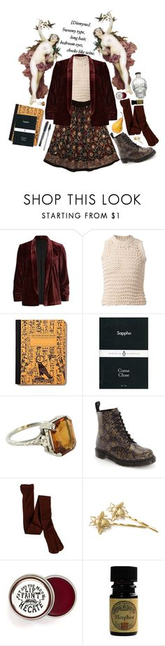 """""""anthropology"""" by mad-olive ❤ liked on Polyvore featuring River Island, Maison Margiela, Vintage, Dr. Martens and J.Crew"""