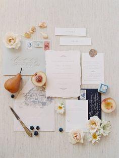 An Amalfi Coast Inspired Elopement shoot in Southern California via Magnolia Rouge Wedding Invitation Inspiration, Wedding Invitation Suite, Wedding Stationary, Wedding Inspiration, Wedding Paper, Wedding Cards, Wedding Bells, Wedding Signs, Amalfi Coast Wedding