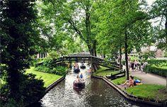 Dutch green Venice - Giethoorn
