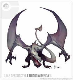 Aerodactyl by Brazilian artist
